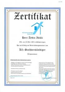 Zertifzierter KFZ GUTACHTER HOCKENHEIM